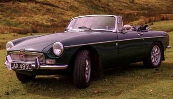 John Bartons 1972 M.G.B Roadster