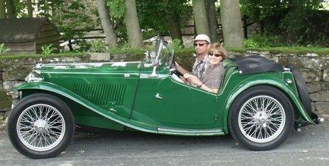 Mark Rees 1947 MG TC