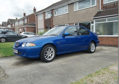 Pam Frankland's 2001 MG ZS +